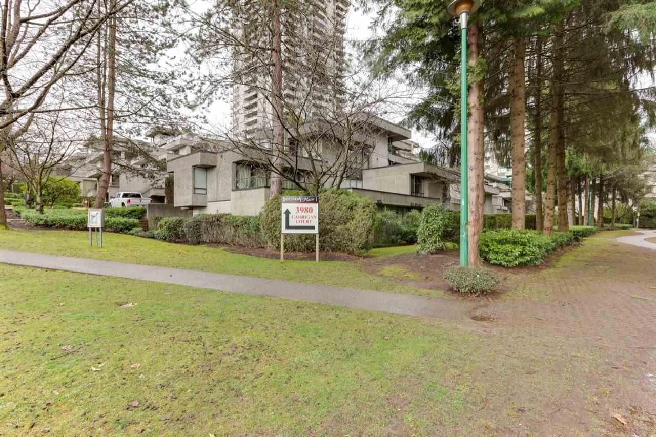 Main Photo: T1505 3980 CARRIGAN Court in Burnaby: Government Road Townhouse for sale (Burnaby North)  : MLS®# R2547820