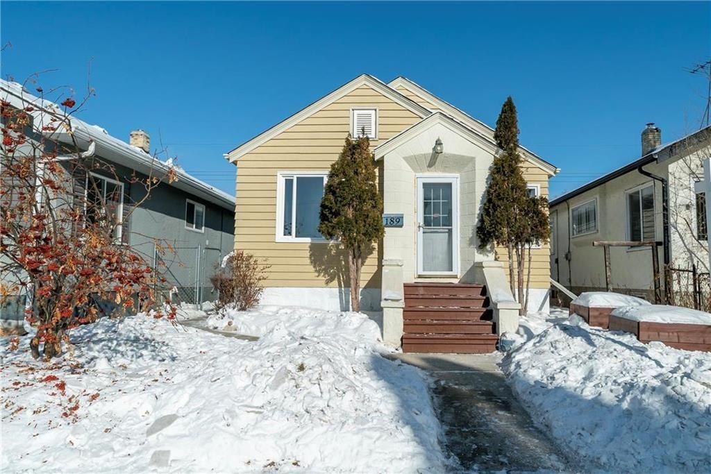Main Photo: 189 HARBISON Avenue in Winnipeg: Elmwood Residential for sale (3A)  : MLS®# 202102306