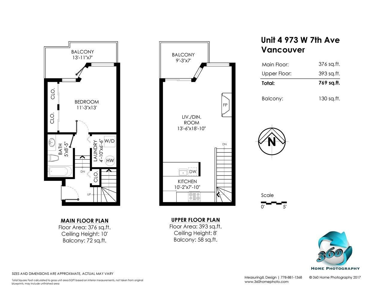 """Photo 12: Photos: 4 973 W 7TH Avenue in Vancouver: Fairview VW Condo for sale in """"SEAWINDS"""" (Vancouver West)  : MLS®# R2273280"""