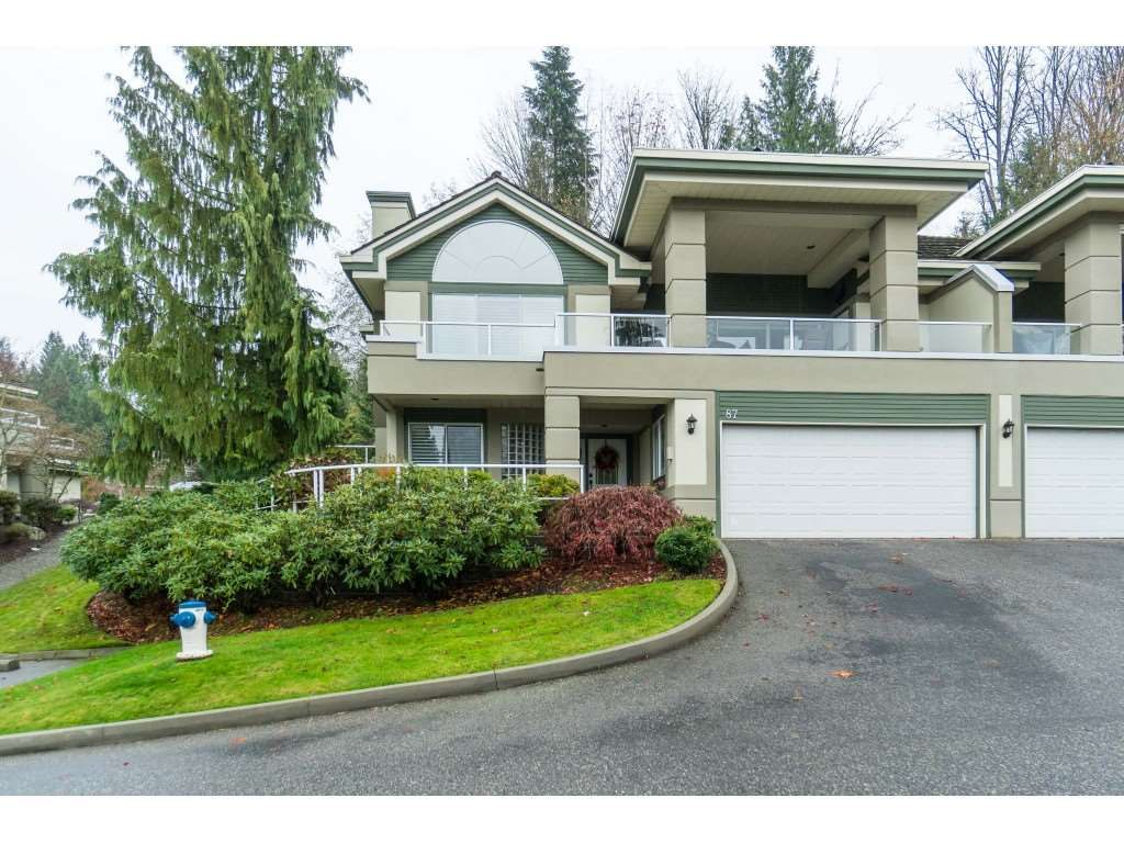 """Main Photo: 87 4001 OLD CLAYBURN Road in Abbotsford: Abbotsford East Townhouse for sale in """"Cedar Springs"""" : MLS®# R2419759"""