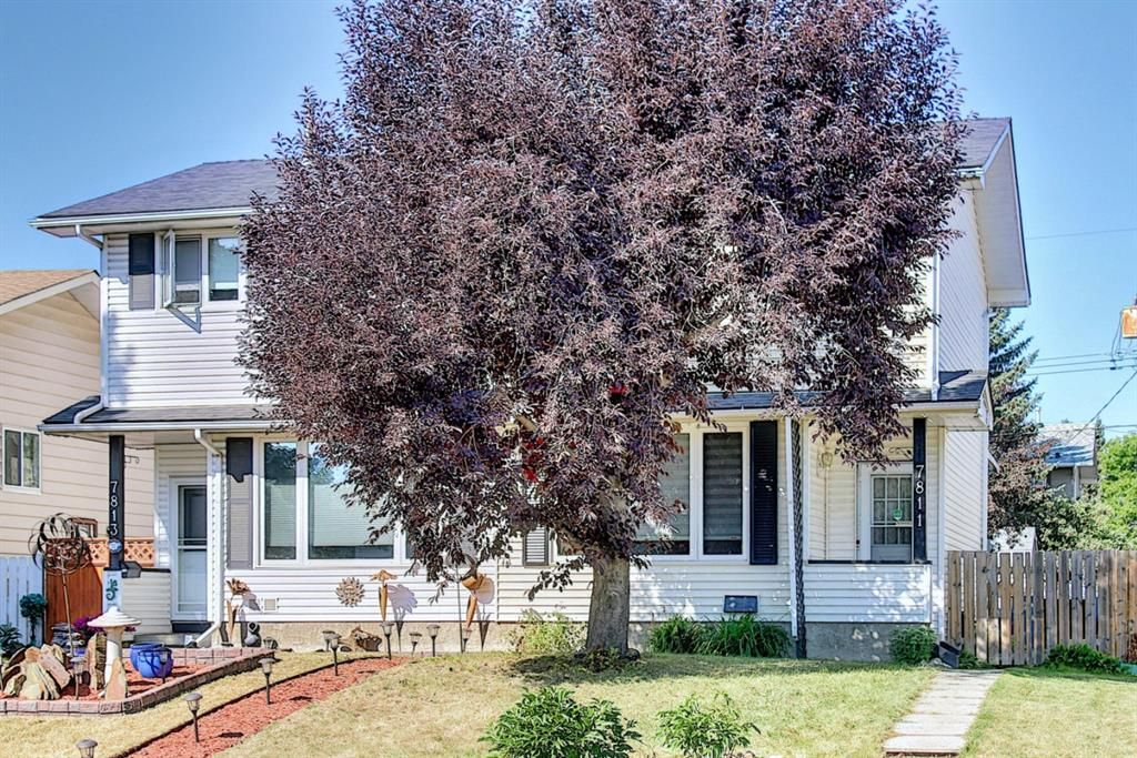 7811-22 Street Half Duplex located on beautiful wide street surrounded with Great Neighbors. Shingles replaced in 2017.