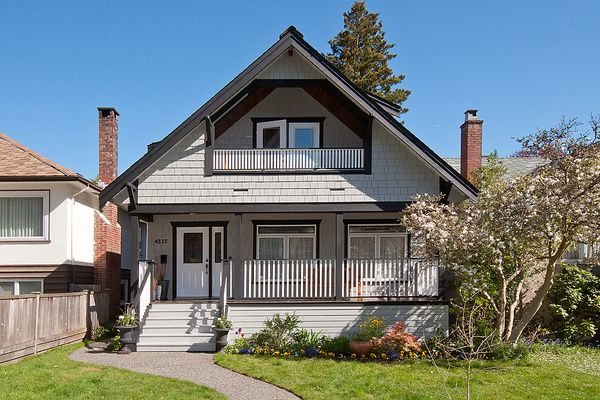 Main Photo: 4337 W 15TH Avenue in Vancouver: Point Grey House for sale (Vancouver West)  : MLS®# V1004009