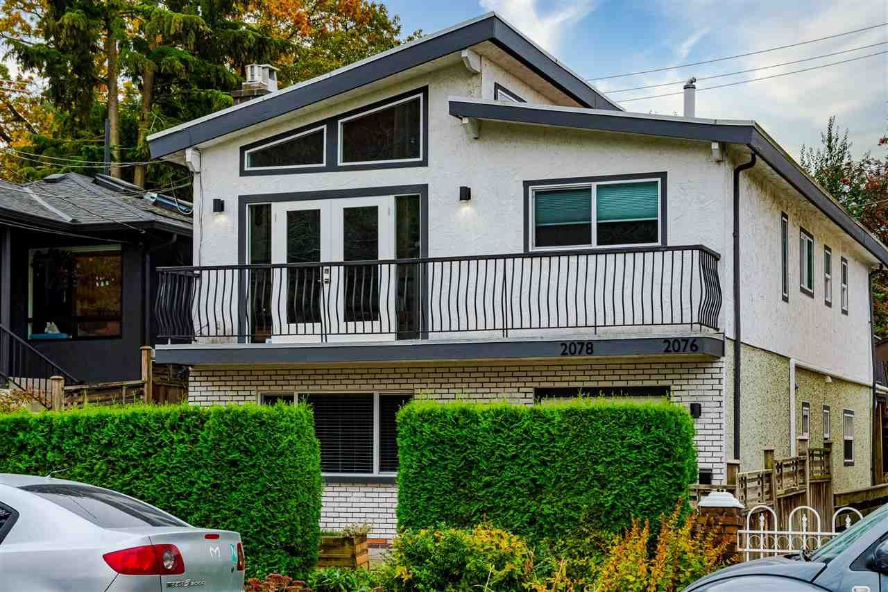 Main Photo: 2078 E 19TH Avenue in Vancouver: Grandview Woodland House for sale (Vancouver East)  : MLS®# R2514522