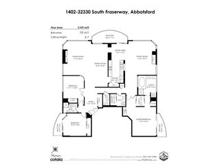 """Photo 33: 1402 32330 SOUTH FRASER Way in Abbotsford: Abbotsford West Condo for sale in """"TOWN CENTER TOWER"""" : MLS®# R2521811"""