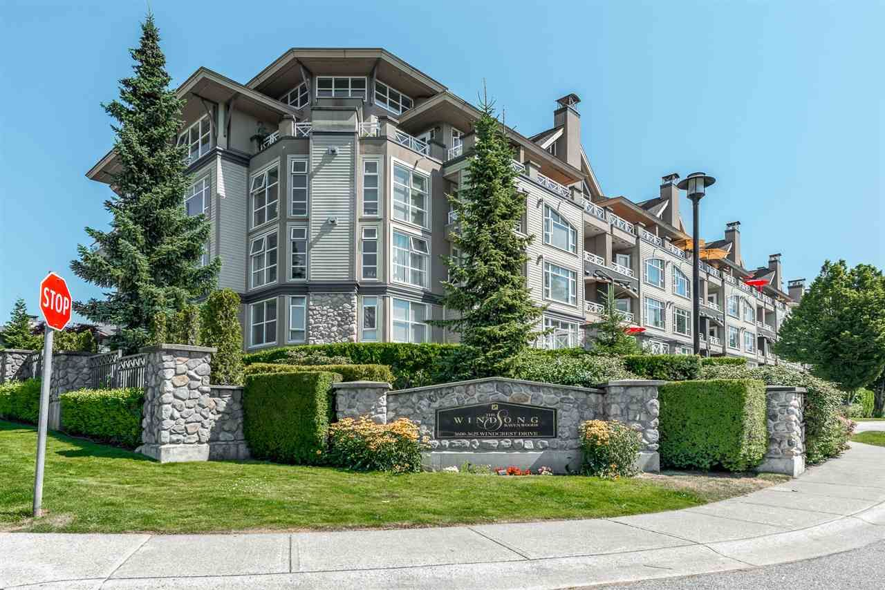 """Main Photo: 117 3600 WINDCREST Drive in North Vancouver: Roche Point Townhouse for sale in """"Windsong at Ravenwoods"""" : MLS®# R2481637"""