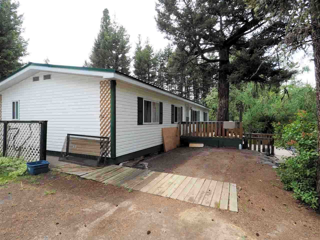 Main Photo: 4836 GLOINNZUN Drive in 108 Mile Ranch: 108 Ranch Manufactured Home for sale (100 Mile House (Zone 10))  : MLS®# R2435093