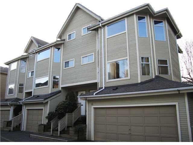 Main Photo: 12 5740 GARRISON ROAD in : Riverdale RI Townhouse for sale : MLS®# V869428