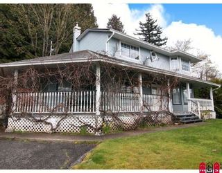 Photo 1: 34753 DELAIR Road in Abbotsford: Abbotsford East House for sale : MLS®# F2817027
