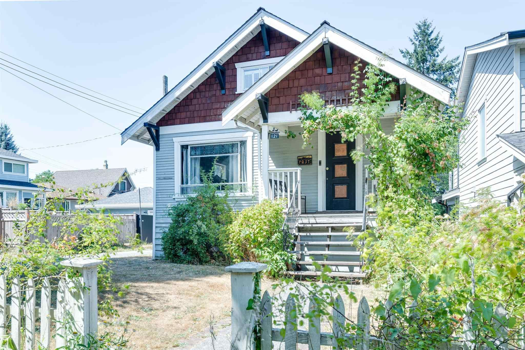 Main Photo: 121 DURHAM Street in New Westminster: GlenBrooke North House for sale : MLS®# R2607576