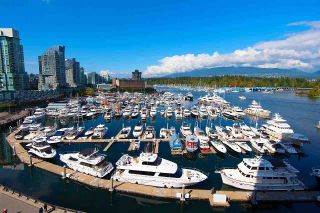 """Photo 1: 607 323 JERVIS Street in Vancouver: Coal Harbour Condo for sale in """"ESCALA"""" (Vancouver West)  : MLS®# R2593868"""