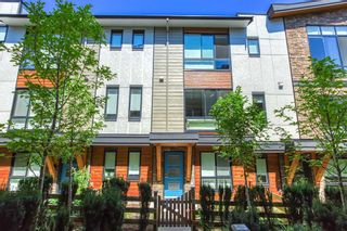 """Photo 1: 196 16488 64 Avenue in Surrey: Cloverdale BC Townhouse for sale in """"Harvest at Bose Farms"""" (Cloverdale)  : MLS®# R2562625"""
