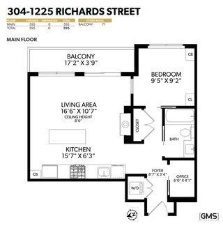 """Photo 40: 304 1225 RICHARDS Street in Vancouver: Downtown VW Condo for sale in """"The Eden"""" (Vancouver West)  : MLS®# R2567763"""