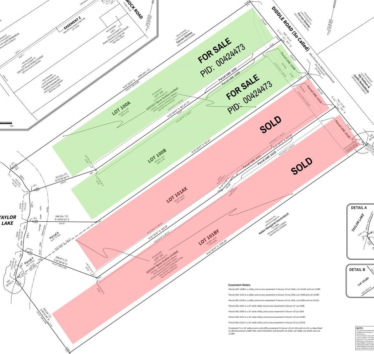 Main Photo: 100B Dockview Lane in Hammonds Plains: 21-Kingswood, Haliburton Hills, Hammonds Pl. Vacant Land for sale (Halifax-Dartmouth)  : MLS®# 202023537