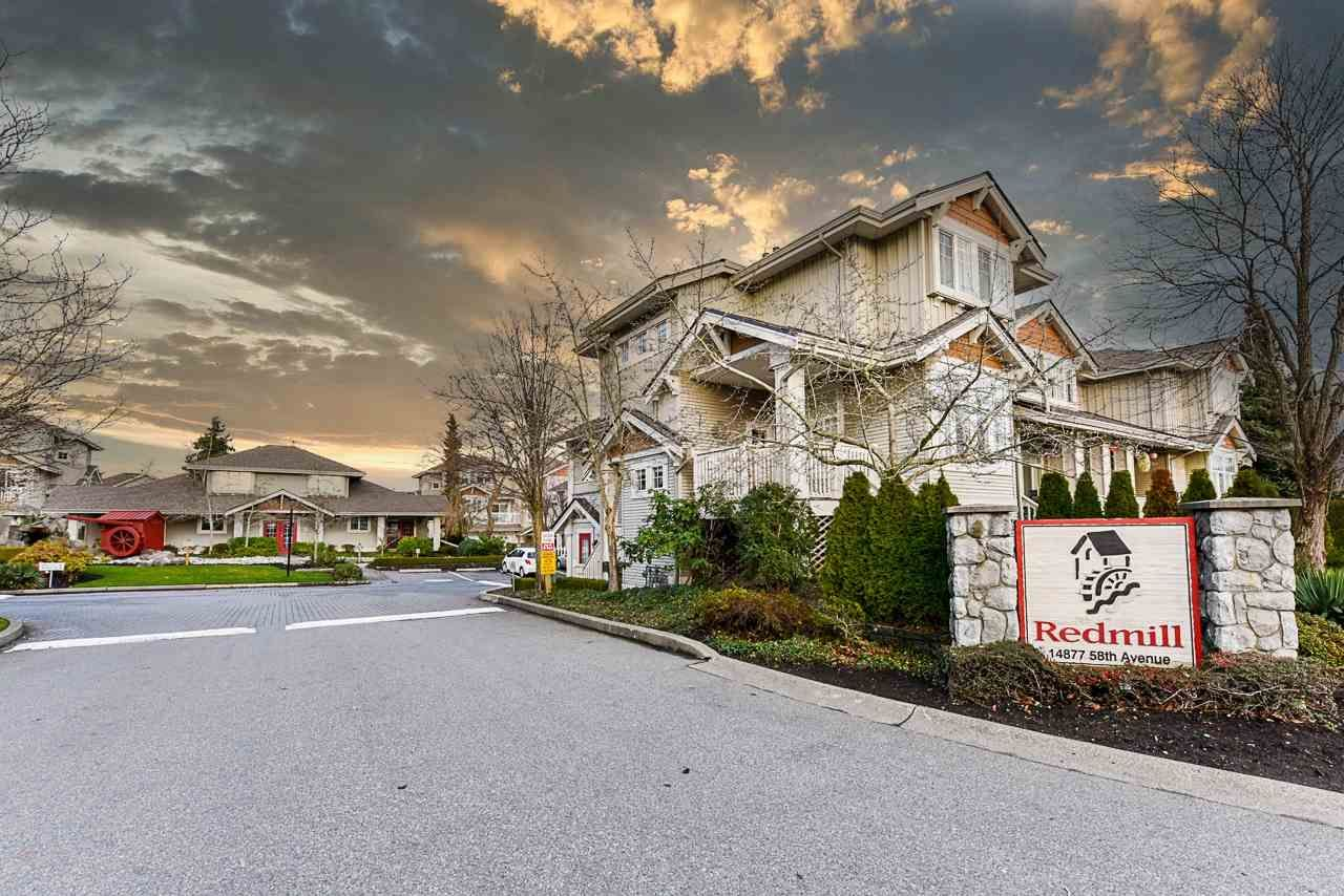 """Main Photo: 79 14877 58 Avenue in Surrey: Sullivan Station Townhouse for sale in """"Redmill"""" : MLS®# R2526859"""
