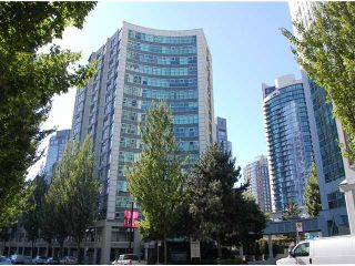 """Photo 1: # B1201 1331 HOMER ST in Vancouver: Yaletown Condo for sale in """"PACIFIC POINT"""" (Vancouver West)  : MLS®# V970137"""