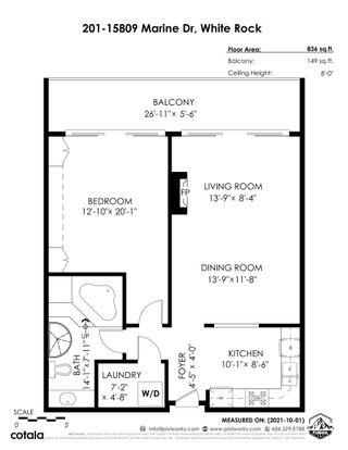 Photo 34: 201 15809 MARINE Drive: White Rock Condo for sale (South Surrey White Rock)  : MLS®# R2624089