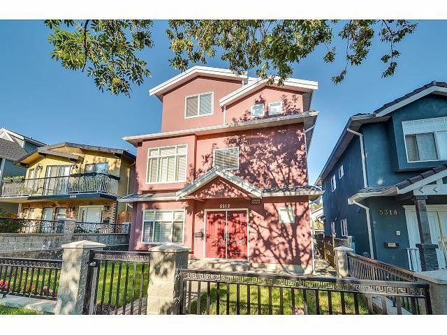 Main Photo: 5312 SOMERVILLE Street in Vancouver: Fraser VE House for sale (Vancouver East)  : MLS®# V1076082