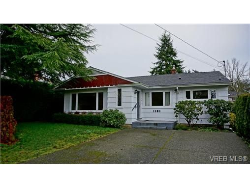 Main Photo: 1181 Union Rd in VICTORIA: SE Maplewood House for sale (Saanich East)  : MLS®# 719567