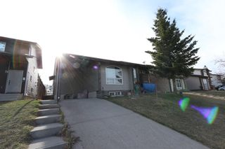 Photo 1: 4341 58 Street NE in Calgary: Temple Semi Detached for sale : MLS®# A1096497