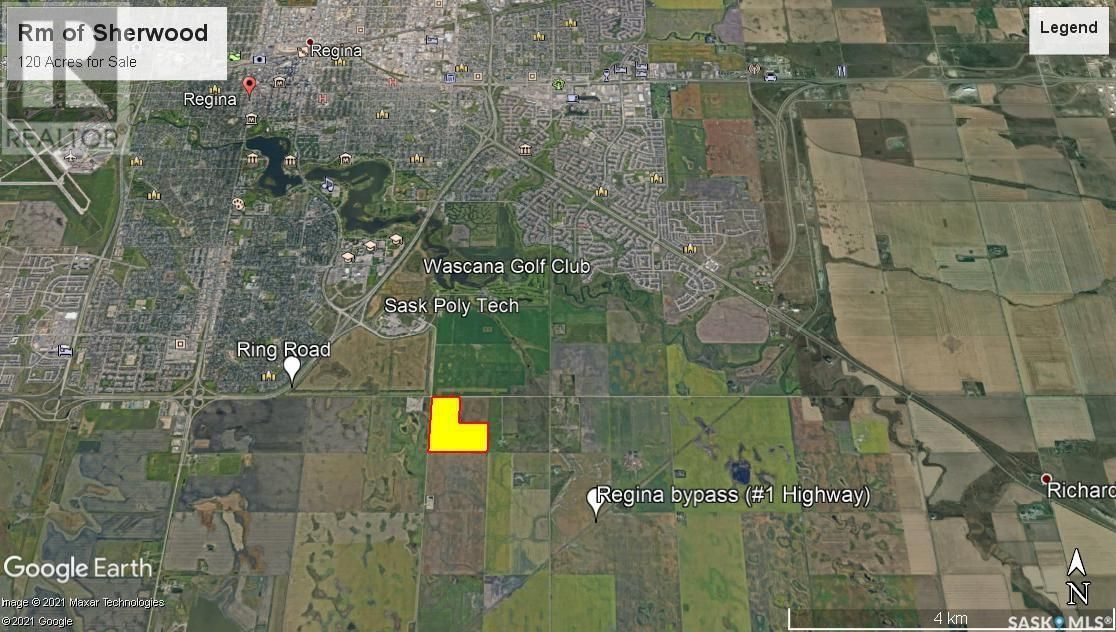 Main Photo: Rm Sherwood - 120 Acre Development Land in Sherwood Rm No. 159: Agriculture for sale : MLS®# SK858725