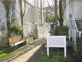 """Photo 17: 23 780 W 15TH Avenue in Vancouver: Fairview VW Townhouse for sale in """"SIXTEEN WILLOWS"""" (Vancouver West)  : MLS®# V1108293"""