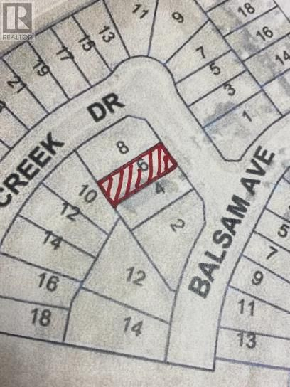Main Photo: 6 Bear Creek Drive in High Level: Vacant Land for sale : MLS®# A1129478