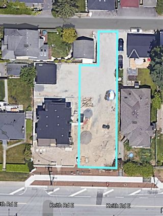 Photo 1: 718 E KEITH Road in North Vancouver: Boulevard Land for sale : MLS®# R2531417
