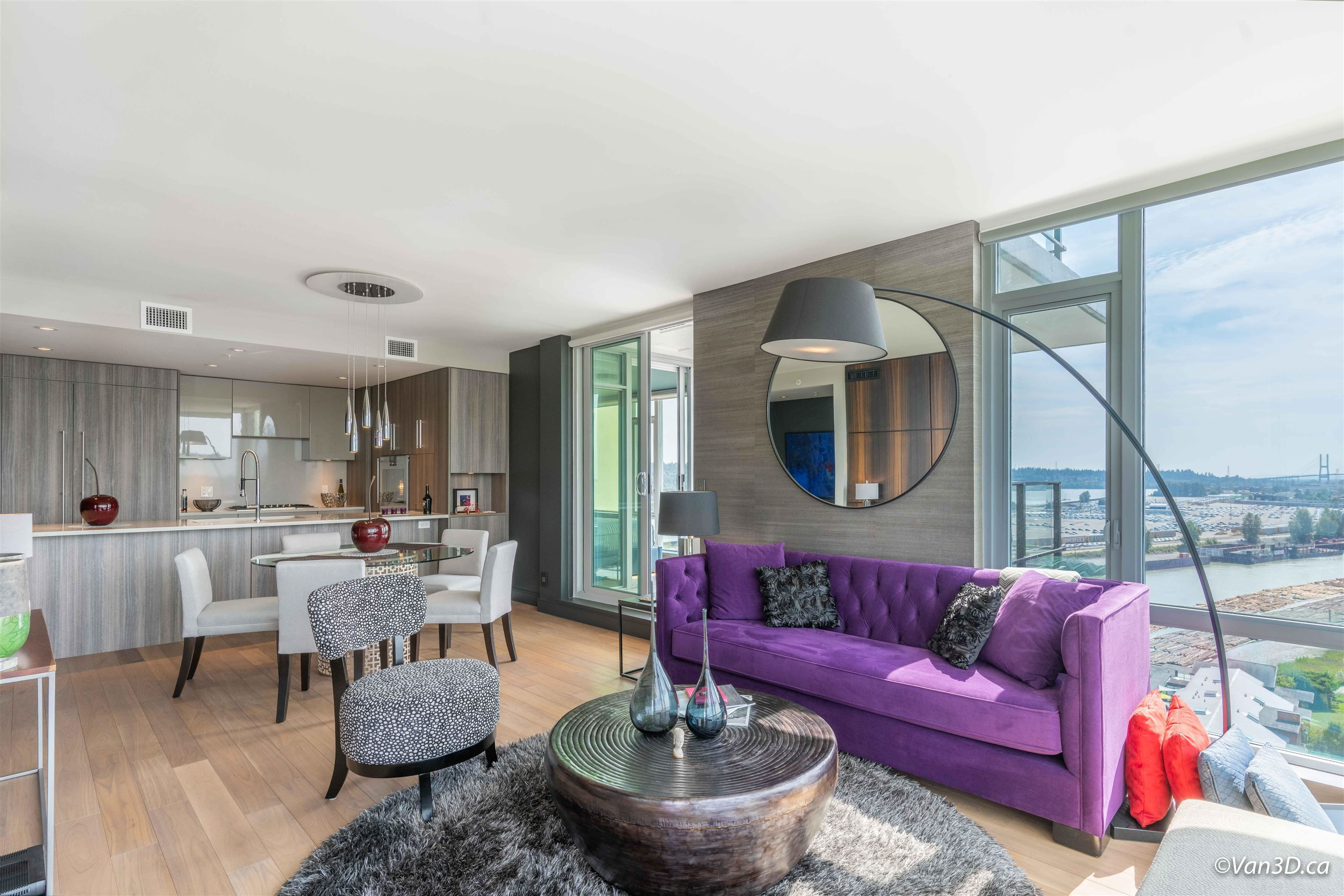 """Main Photo: 1801 210 SALTER Street in New Westminster: Queensborough Condo for sale in """"PENINSULA"""" : MLS®# R2611499"""