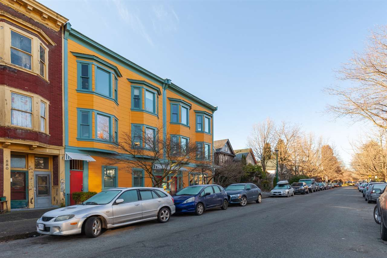 "Main Photo: 2 874 E GEORGIA Street in Vancouver: Strathcona Condo for sale in ""Sakura Apartments"" (Vancouver East)  : MLS®# R2541334"