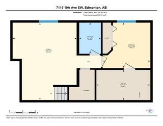 Photo 43: 7119 19A Avenue in Edmonton: Zone 53 House for sale : MLS®# E4263720