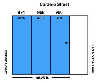 Main Photo: 960 CARDERO Street in Vancouver: West End VW Land for sale (Vancouver West)  : MLS®# R2479327