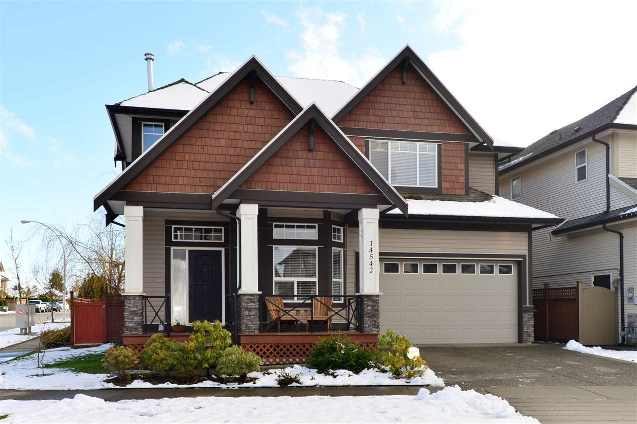 "Main Photo: 14542 59B Avenue in Surrey: Sullivan Station House for sale in ""Sullivan Heights"" : MLS®# R2144735"