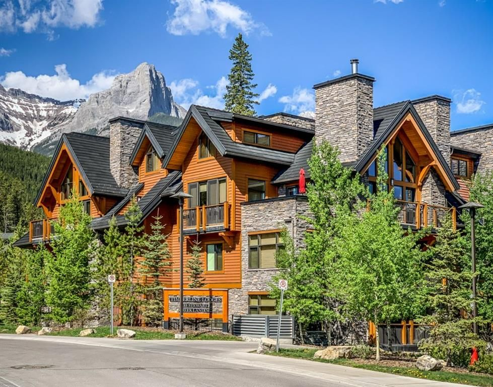Main Photo: 2101 101 Stewart Creek Landing: Canmore Apartment for sale : MLS®# A1117330