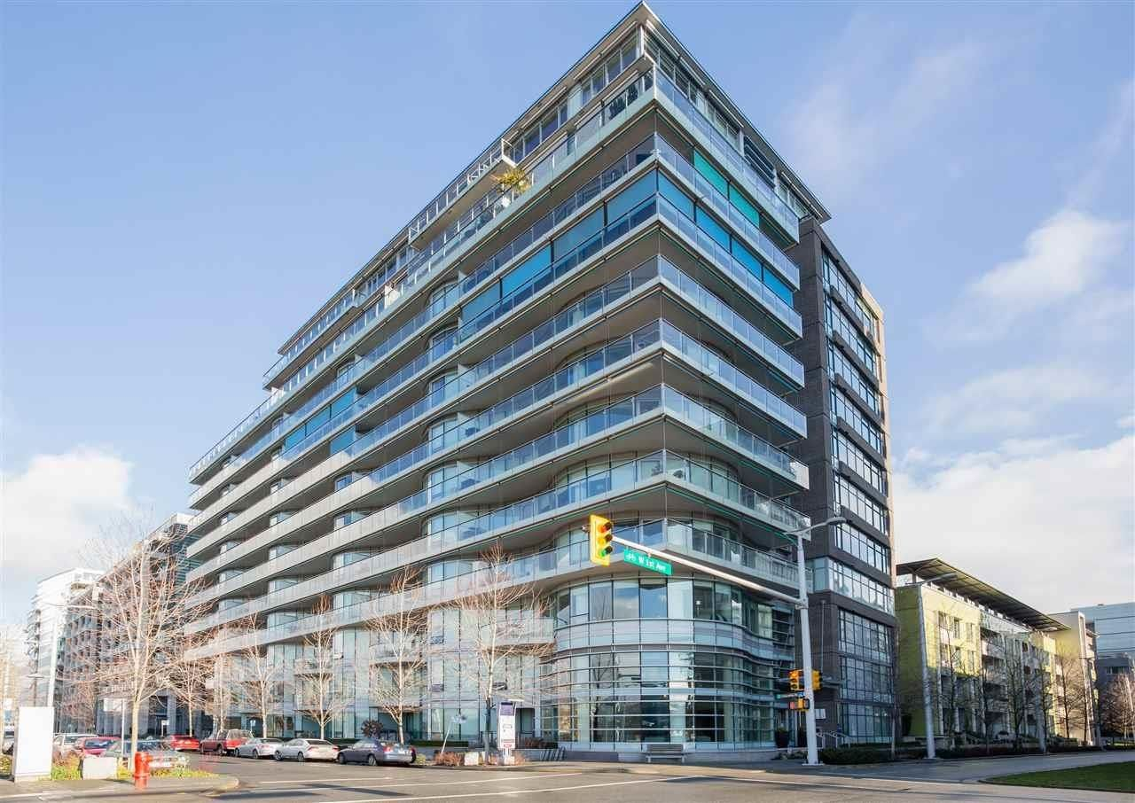 """Main Photo: 407 181 W 1ST Avenue in Vancouver: False Creek Condo for sale in """"BROOK AT THE VILLAGE"""" (Vancouver West)  : MLS®# R2617184"""