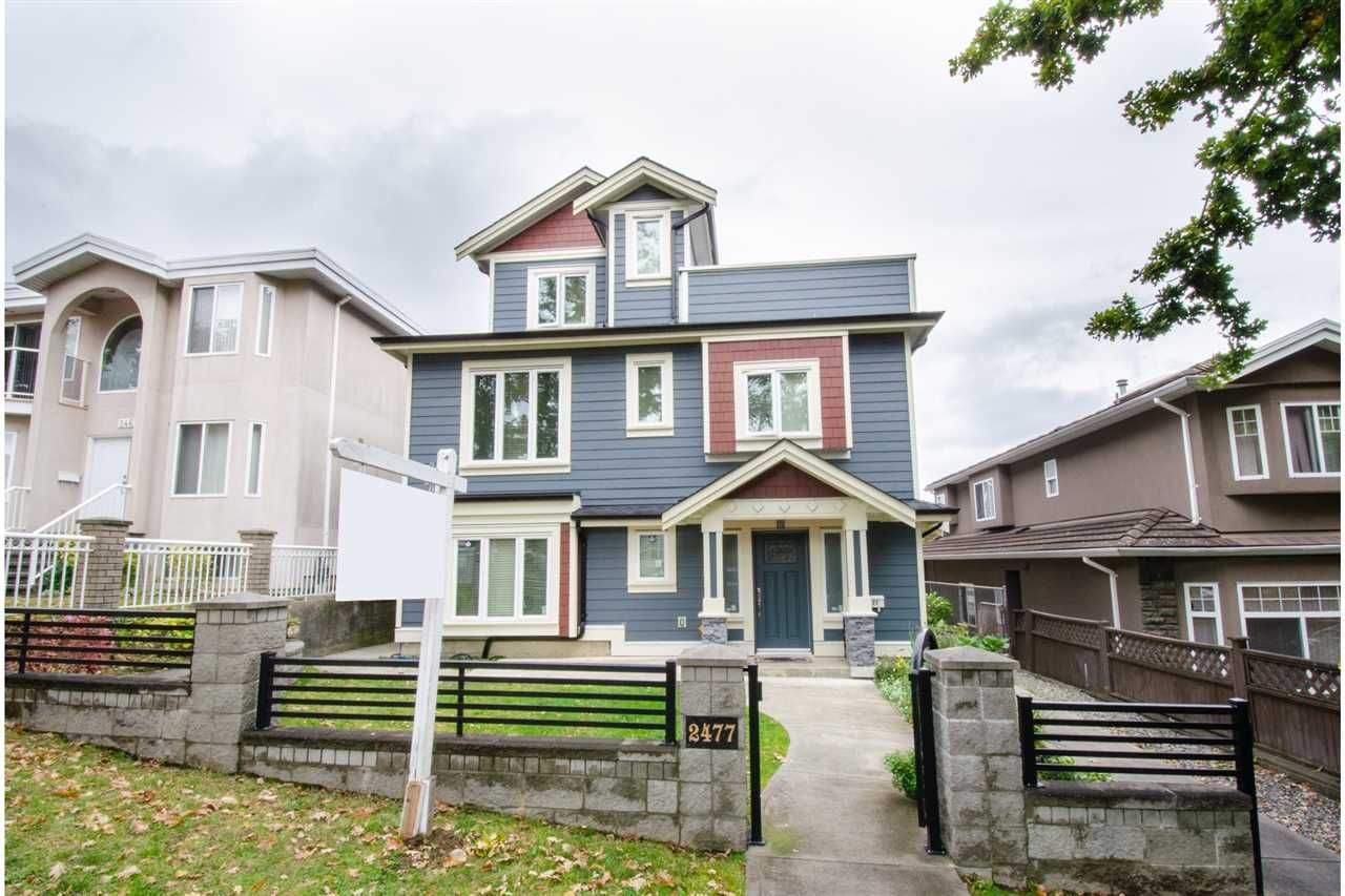 Main Photo: 2477 & 2479 ST. LAWRENCE Street in Vancouver: Collingwood VE Duplex for sale (Vancouver East)  : MLS®# R2562014