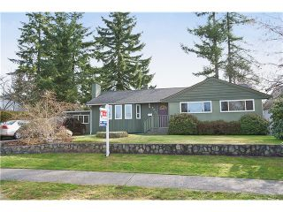 Photo 1: 707 ROBINSON Street in Coquitlam: Coquitlam West House for sale : MLS®# V997474