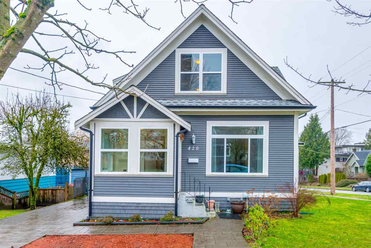 Main Photo: 420 NINTH STREET in : Uptown NW House for sale : MLS®# R2239714