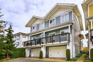 "Photo 1: 28 1130 EWEN Avenue in New Westminster: Queensborough Townhouse for sale in ""Gladstone Park"" : MLS®# R2539709"
