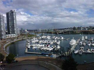 Photo 1: # 905 1201 MARINASIDE CR in Vancouver: Yaletown Condo for sale ()  : MLS®# V938360
