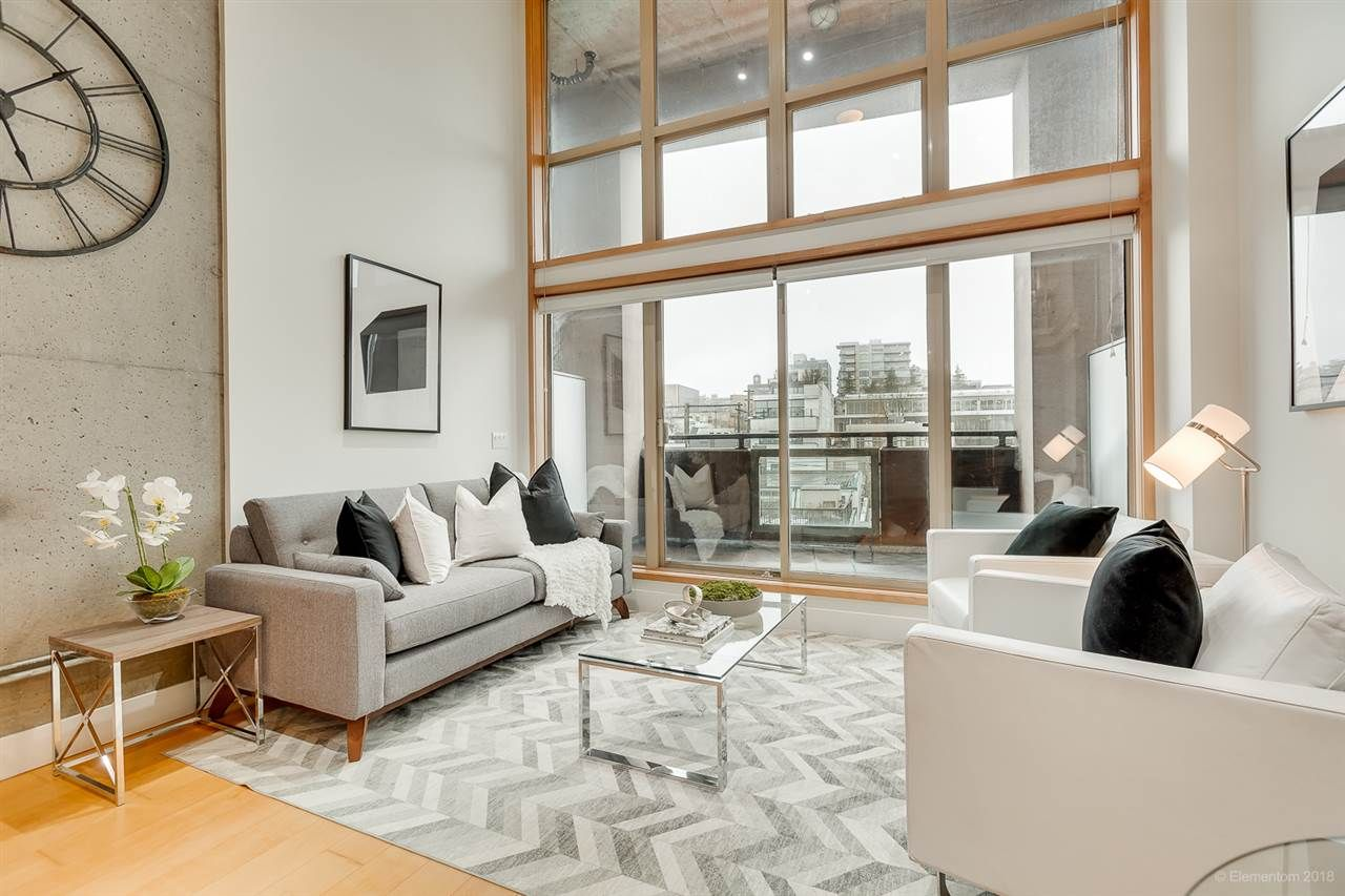 Main Photo: 413 1529 W 6TH AVENUE in Vancouver: False Creek Condo for sale (Vancouver West)  : MLS®# R2435033