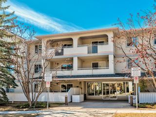 Main Photo: 307 1733 27 Avenue SW in Calgary: South Calgary Apartment for sale : MLS®# A1098393