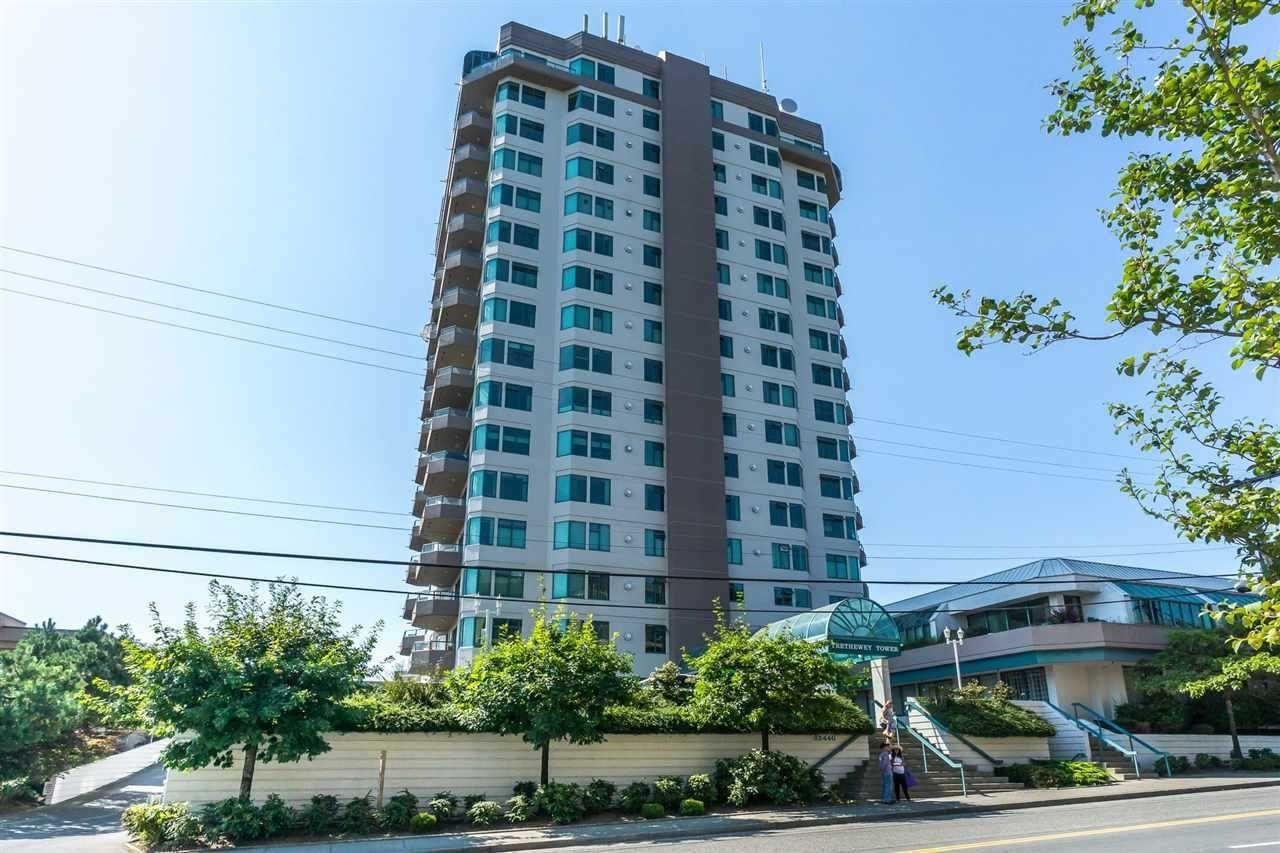 "Main Photo: 602 32440 SIMON Avenue in Abbotsford: Abbotsford West Condo for sale in ""Trethewey Tower"" : MLS®# R2502088"