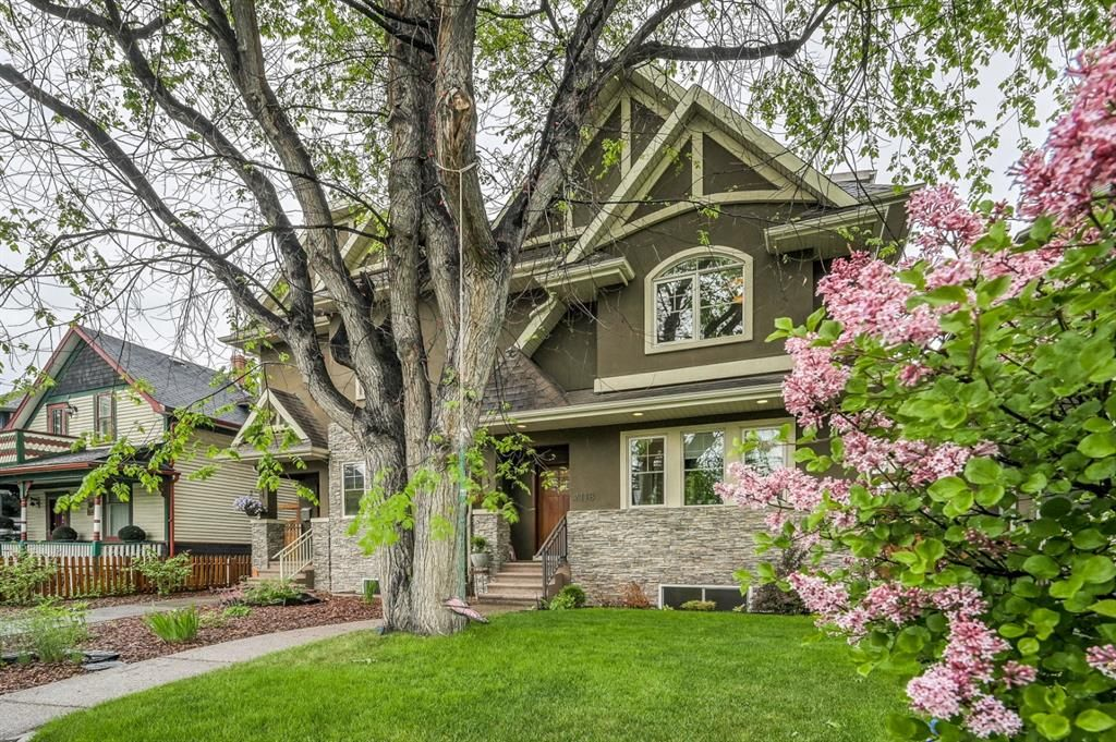 Main Photo: 2118 1 Avenue NW in Calgary: West Hillhurst Semi Detached for sale : MLS®# A1120064