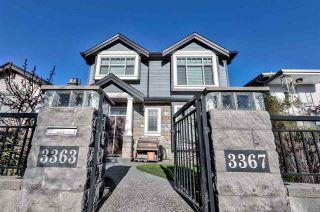 Photo 2: 3367 VENABLES Street in Vancouver: Renfrew VE House for sale (Vancouver East)  : MLS®# R2521360