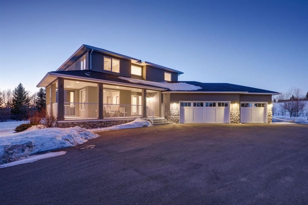 Main Photo: 149 Bearspaw Hills Road in Rural Rocky View County: Rural Rocky View MD Detached for sale : MLS®# A1061262