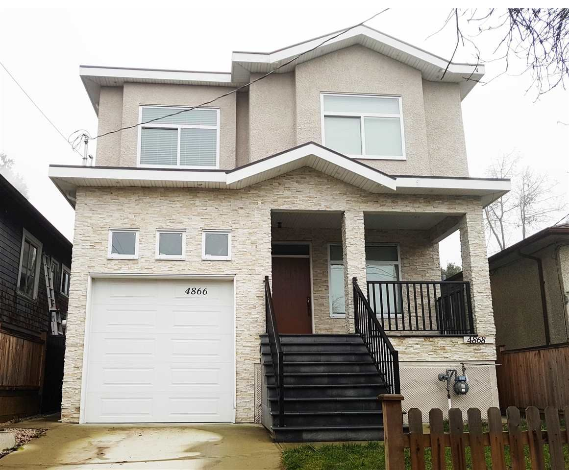 Main Photo: 4866 MOSS Street in Vancouver: Collingwood VE House for sale (Vancouver East)  : MLS®# R2227855