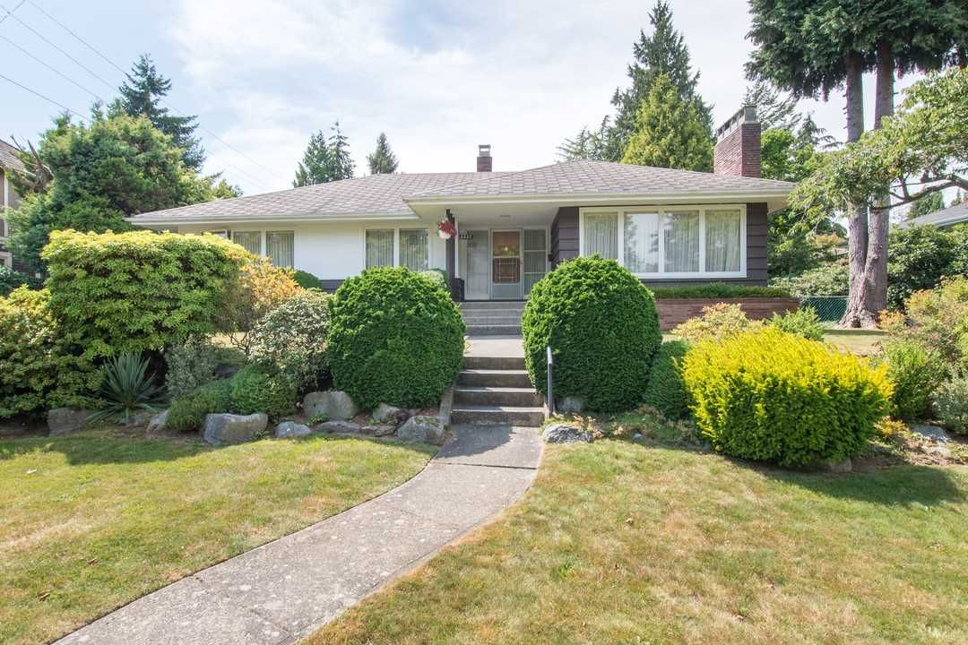 """Main Photo: 2037 ALLISON Road in Vancouver: University VW House for sale in """"UEL SOUTH"""" (Vancouver West)  : MLS®# R2100165"""