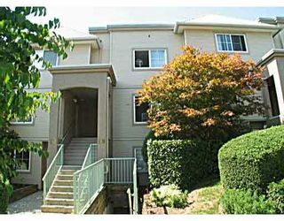 "Photo 1: 19 270 CASEY Street in Coquitlam: Maillardville Townhouse for sale in ""CHATEAU LAVAL"" : MLS®# V754922"
