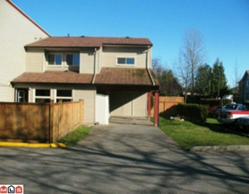 """Main Photo: 162 27456 32ND Avenue in Langley: Aldergrove Langley Townhouse for sale in """"CEDAR PARK"""" : MLS®# F1005460"""