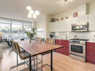 """Photo 1: 209 2250 COMMERCIAL Drive in Vancouver: Grandview VE Condo for sale in """"THE MARQUEE"""" (Vancouver East)  : MLS®# R2253784"""